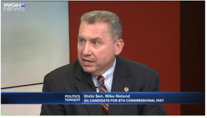 State Senator Mike Noland on WGN News (image)